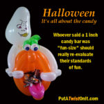 halloween balloon figure
