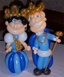 centerpeice king and queen
