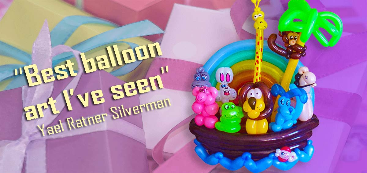 Balloon artists and kids birthday party entertainer, Dale Obrochta