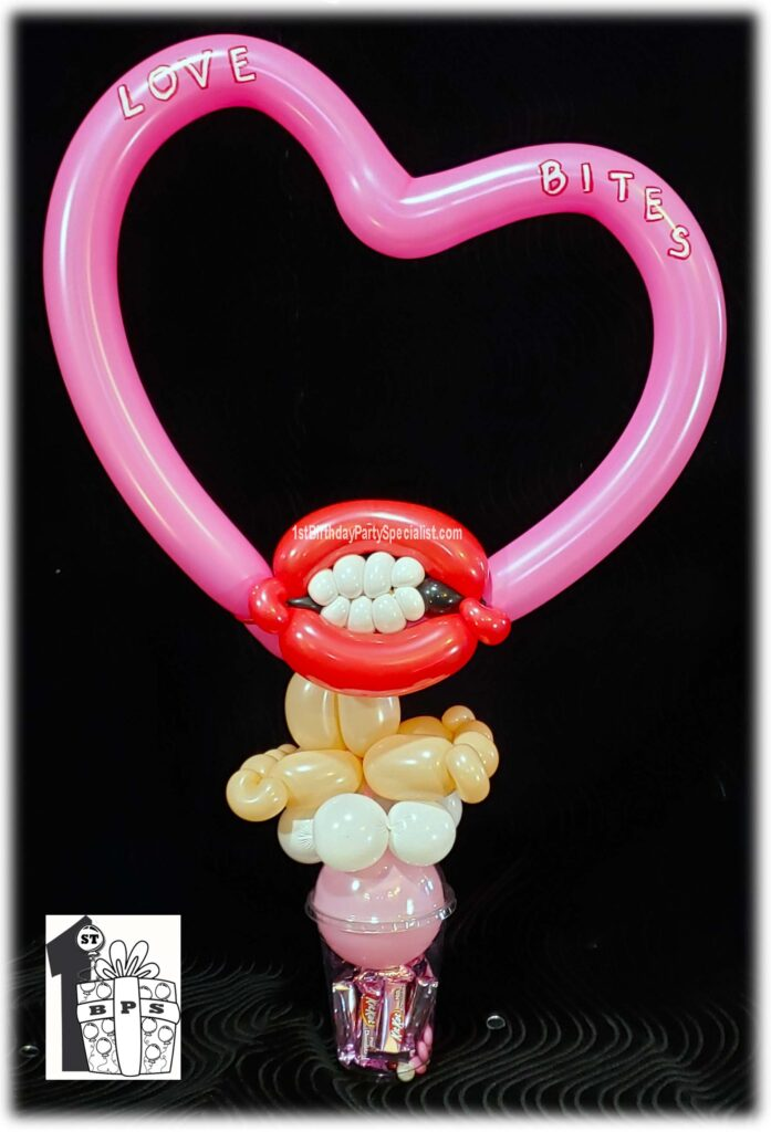 Love Bites Valentine's Day Candy Cup