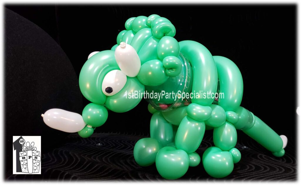 Triceratops Dinosaur  Candy Cup by Magical Balloon-dude Dale