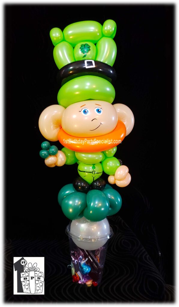 Leprechaun Balloon Candy Cup